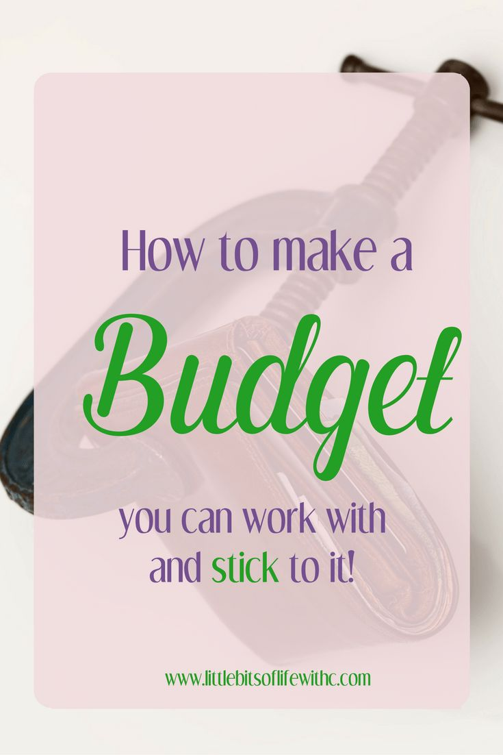 Make a budget you can stick with and change your whole life! Read ways to stick to your budget and help save money!