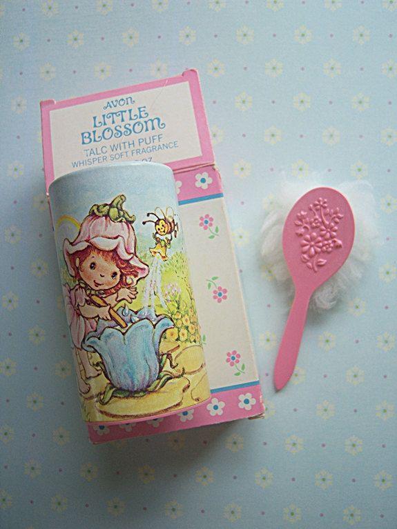 Vintage Avon Fairy Dusting Powder. I HAD THIS!!!!
