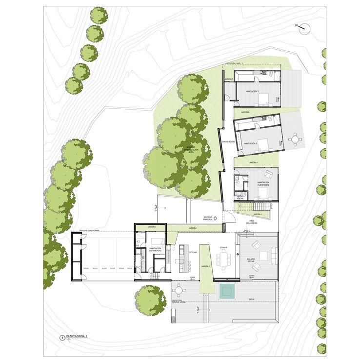 Las 25 mejores ideas sobre planos arquitectonicos en for Plantas de arquitectura