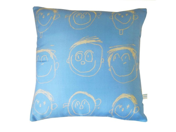 Give me your child's drawings and I can make you a cushion