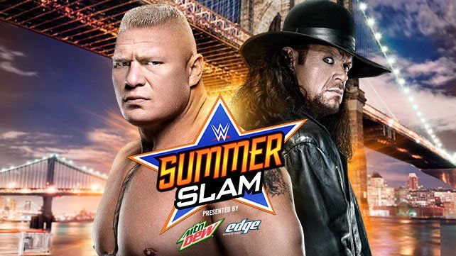 Brock Lesnar vs. The Undertaker (WWE SummerSlam 2015) - WWE.com