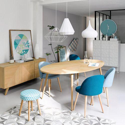 Table de salle à manger en bois L 200 cm