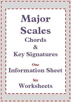 Image Result For Music Theory Major Scales