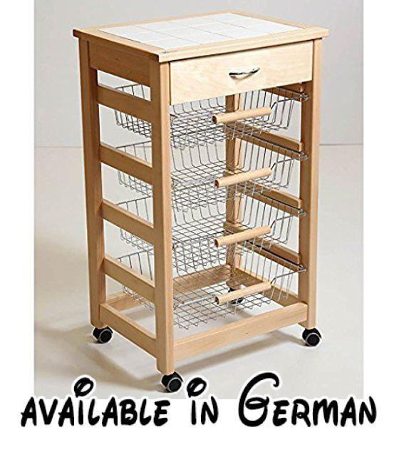 1882 best Möbel - Küche images on Pinterest - küchenwagen mit schubladen