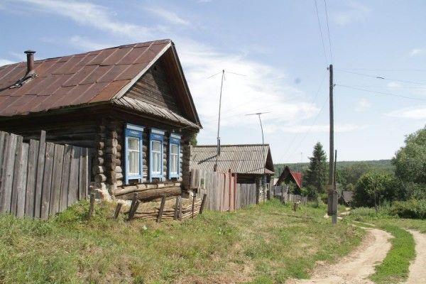 русская деревня. родная.