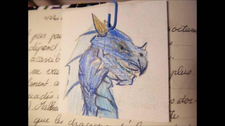 Dessins de créatures fantastiques (elfe, loup-garou, licorne,etc)