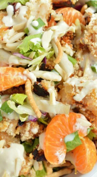 Asian Chicken Crunch Salad   Recipe   Crunches, Salads and Chicken