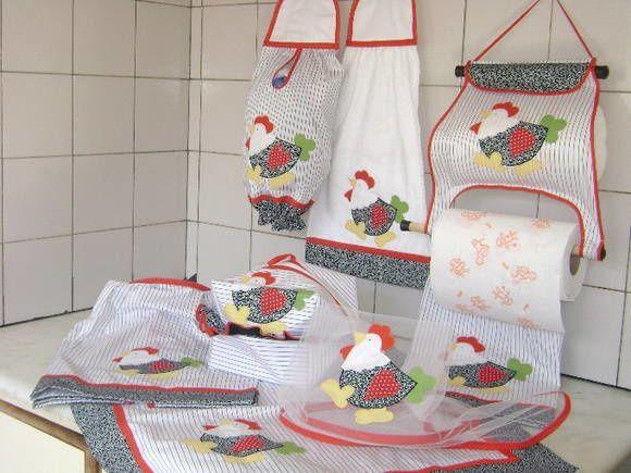 1000 imagens sobre cozinha panos de pratos toalhas e for Papel pintado plastificado