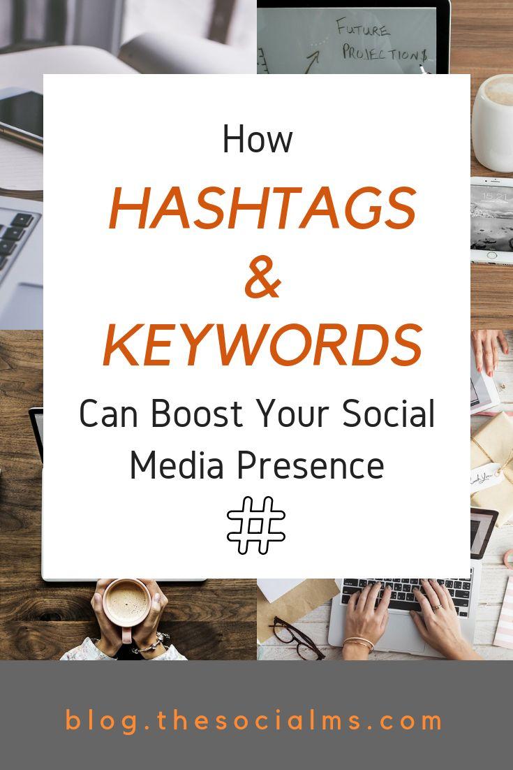 Wie Hashtags & Keywords Ihre Social Media-Präsenz steigern können