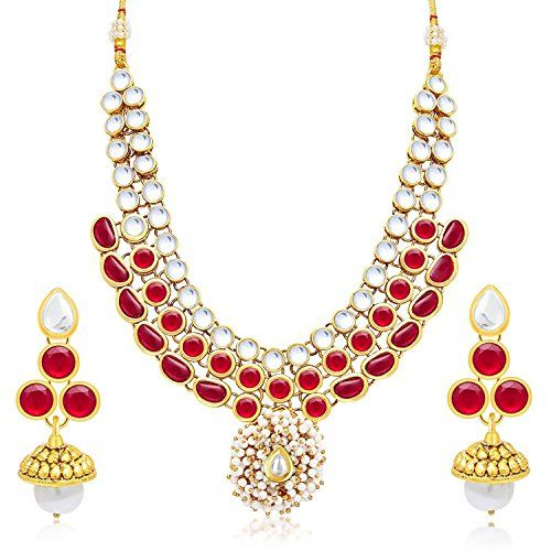 Traditional Gold Plated Red Stone White Pearl Bollywood J... https://www.amazon.com/dp/B01NGTIVI9/ref=cm_sw_r_pi_dp_x_UmjIybP24Q2G6