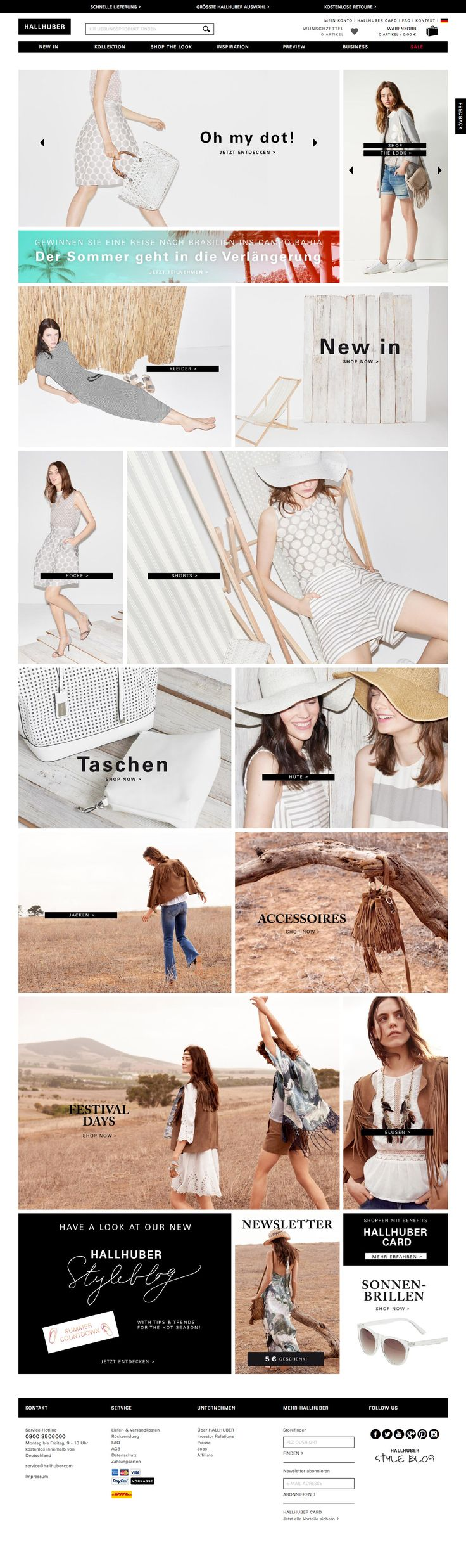 Based in Germany, trend-savvy women's fashion brand HALLHUBER operates over 200 stores and five online shops across seven countries including Germany, Austria, Switzerland, UK, France, The Netherlands, and Belgium