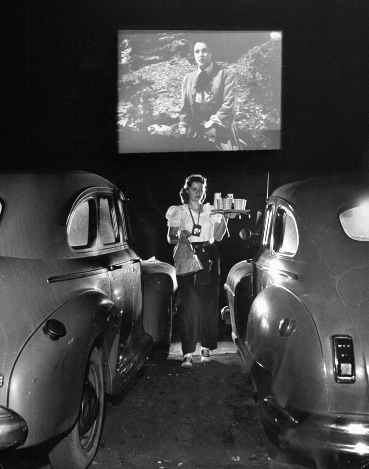 Drive-in theater, San Francisco, 1948. http://ti.me/111xYT1  (Allan Grant—Time & Life Pictures/Getty Images)