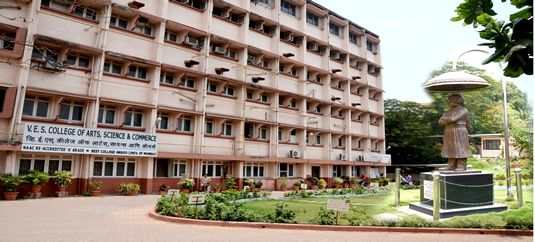 "V.E.S. College of Arts, Science and Commerce was established in June 1979 with First Year Course in all three faculties. It is permanently affiliated to the University of Mumbai. It is also recognized by U.G.C. under 2(f) and 12B. Our College has minority status (Sindhi linguistic minority). The college has been Re-accredited by NAAC with A grade (CGPA 3.12) in February 2012. The college has been bestowed with 'Best College Award"" by University of Mumbai in the year 2012-2013 (Urban Area)…"