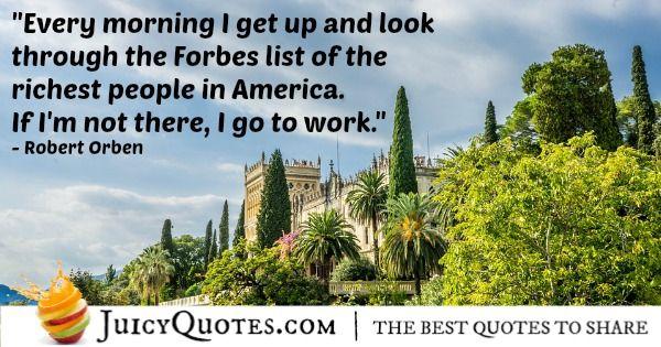 Good Morning Quote - Robert Orben
