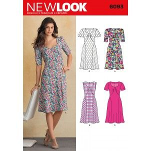 New Look Sewing Pattern - 6093