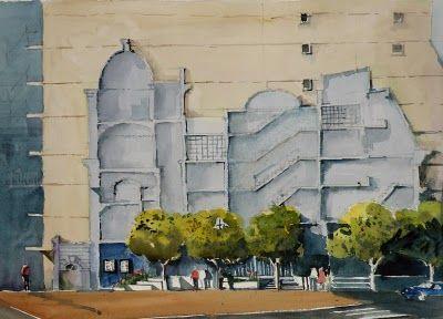 Plaza Embajada de Israel - Arroyo y Suipacha | Alex Sahores