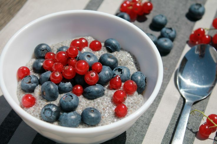Classic chia pudding - ideal for paleo diet