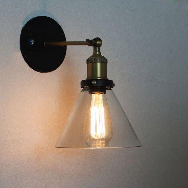 Dallas - Ontdek onze trendy collectie van industriële vintage wandlampen. Centraal element van uw interieur die uw decoratie zal doen schitteren !