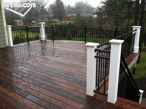 Dark Wood Decking. I Love The Colors.