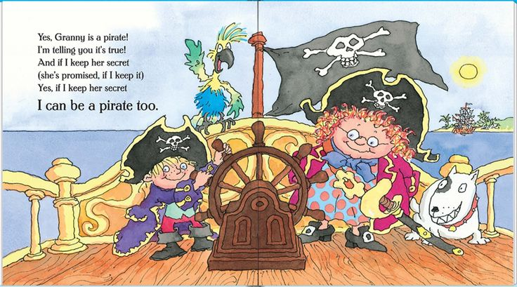 Books For You Enjoy Our Recommendations For The Week Ahead This Week One Of Our Choices Is My Granny Is A Pi English Rhymes Pirate Books Childrens Books