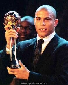 Ronaldo O Fenômeno    -Ronaldo THE Phenomenon, from Brazil (obvious)