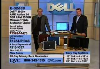 This is a video of QVC Live on the air with a customer mad with her Dell that crashed. The guys try to play it off as a prank call. Nice try.