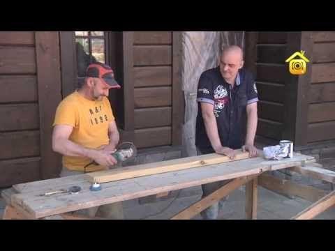 Состаривание древесины. Мастер-класс | Дачное видео: первый интернет-канал о Даче и Доме