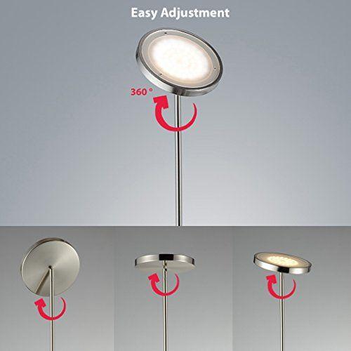 leselampe wohnzimmer led stehlampe inkl led platine v ip w led stehleuchte modern mit leselampe. Black Bedroom Furniture Sets. Home Design Ideas