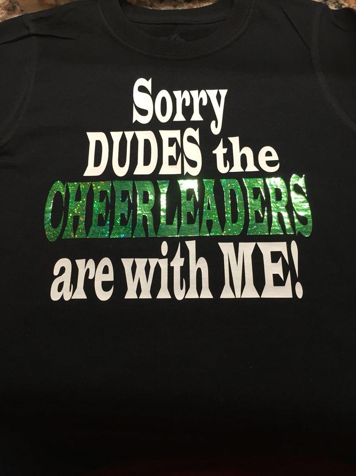 Cheerleader brother shirt