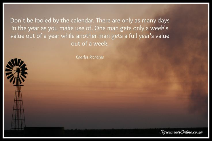 Use your time wisely