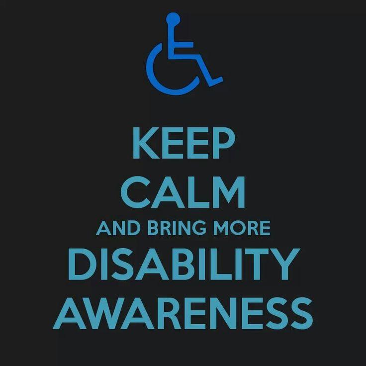Bring More Disability Awareness Disability Disability Awareness Developmental Disability Awareness