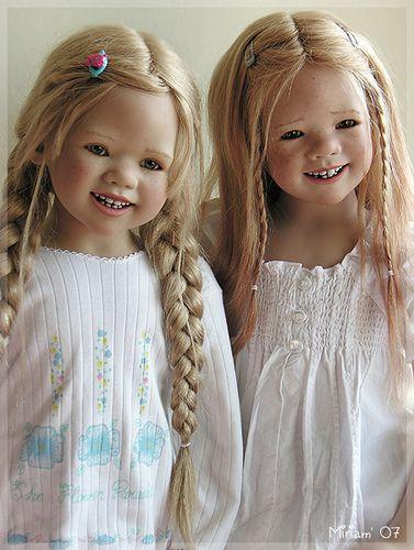 Himstedts blonde by MiriamBJDolls, via Flickr