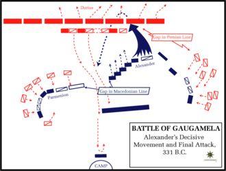 Image result for alexander the great battle of gaugamela