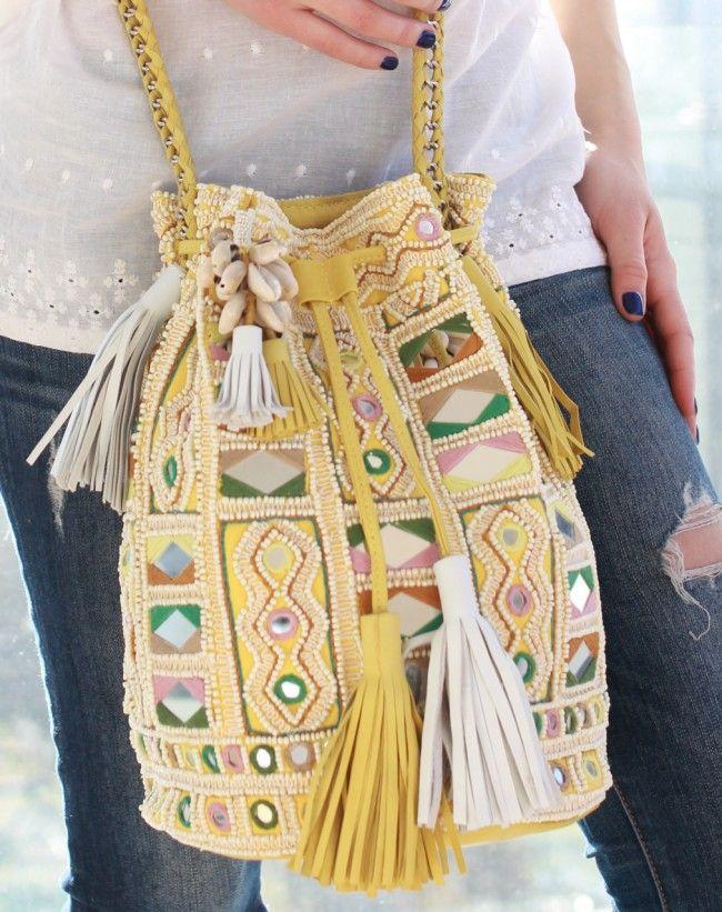Amita Bag - Yellow