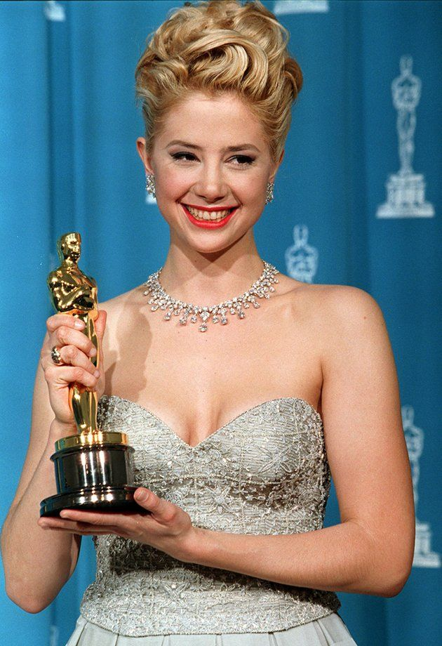 "Mira Sorvino - Best Supporting Actress Oscar for ""Mighty Aphrodite"" (1995)"
