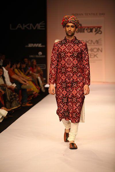 Gaurang at Lakmé Fashion Week