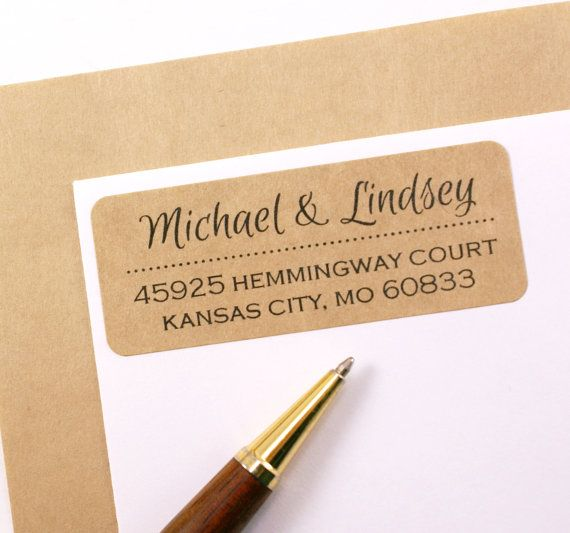 Best 10+ Custom return address labels ideas on Pinterest | Custom ...