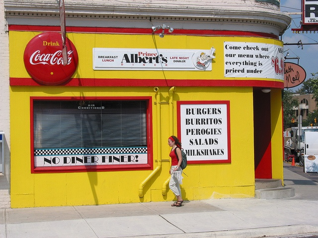 Prince Albert Diner, London, Ontario formerly the Victoria Restaurant AND! right below the Weezi studio :)