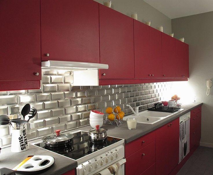 couleur de cuisine 2016 marier au blanc 20 id es tendance cuisine conception de cuisine et. Black Bedroom Furniture Sets. Home Design Ideas