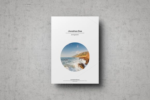 Multipurpose Portfolio Template by ShapShapy on Creative Market