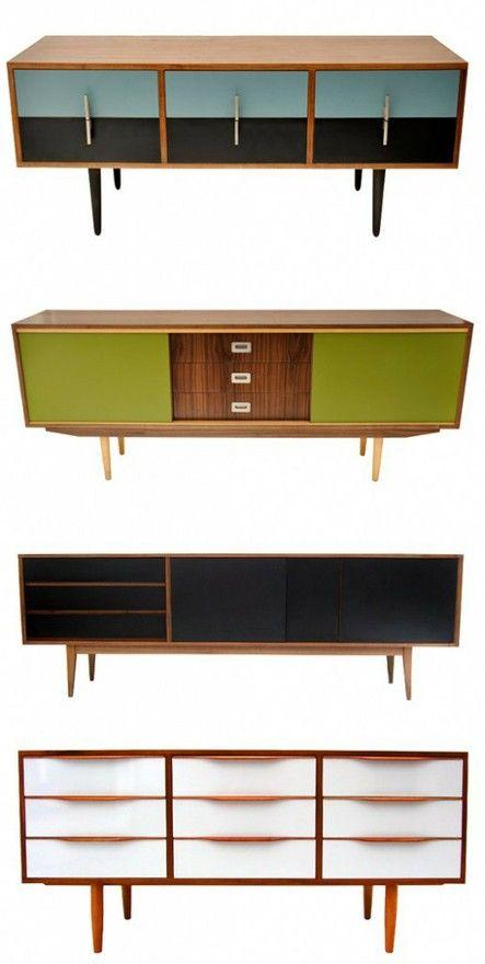 Retro modern furniture #diy #inspiration