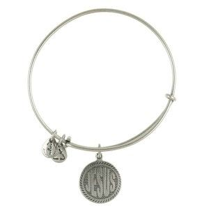Jilly told me these are all the rage in Rhode Island...Alex and Ani bracelets