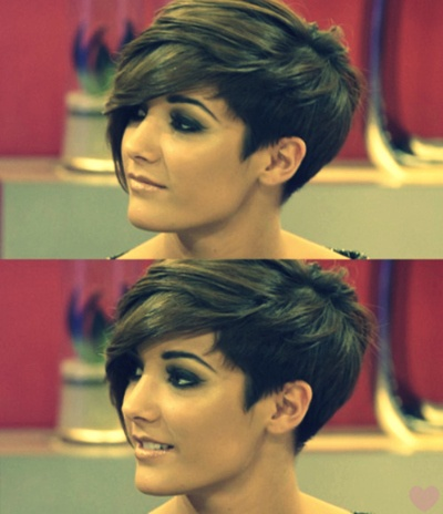 love! i so want to cut my hair like this !!!! if i ever cut my hair short again...could be a while