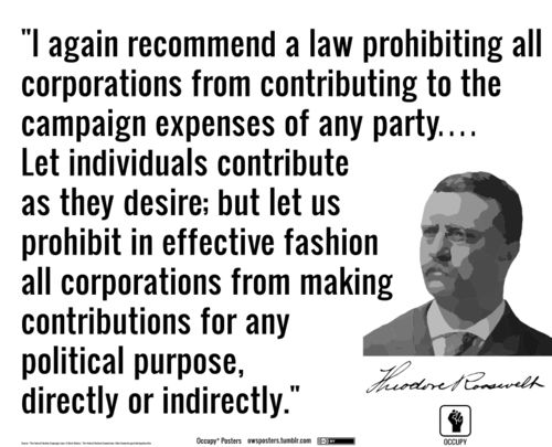 "Agree, but It's for these political contributions that the Citizens United decision was ""legalized"" which today makes the recommendation impossible..."