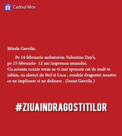 #valentine'sday #ziuaindragostitilor #declaratii de dragoste