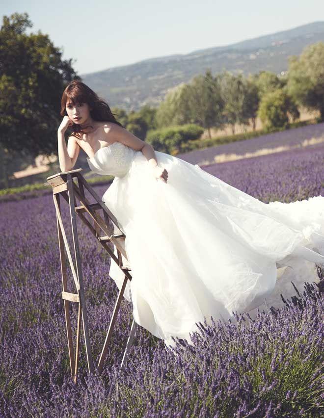 小嶋陽菜がウエディングドレスをプロデュース 6型をラインナップ