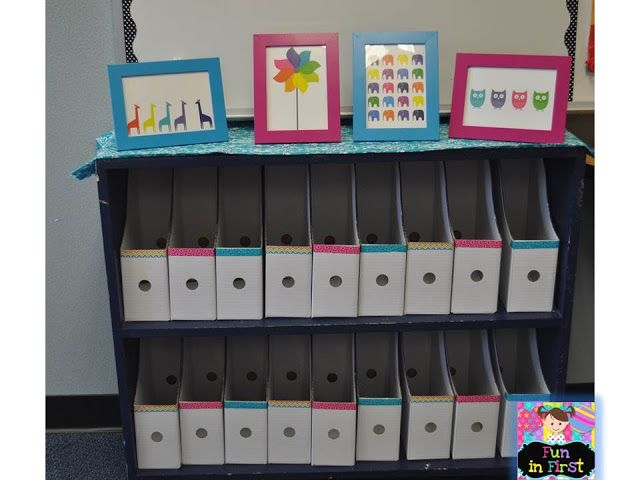 Individual Student Book tubs for Daily 5 {Magazine boxes from IKEA decorated with Washi Tape}