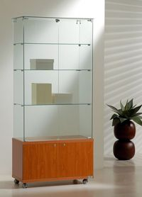 vitrinas de cristal