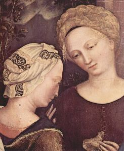 Recreating Veils and Hairstyles of the Middle Ages: 14th Century Italian Hair Styles