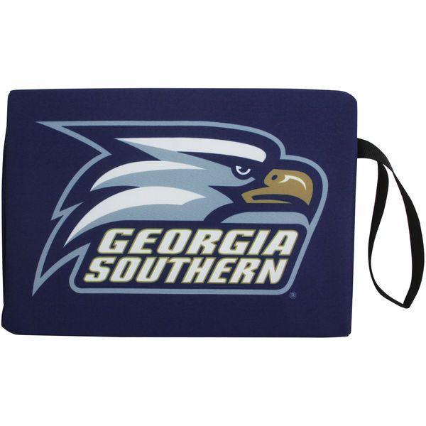 Georgia Southern Eagles Stadium Cushion - Navy Blue - $12.99